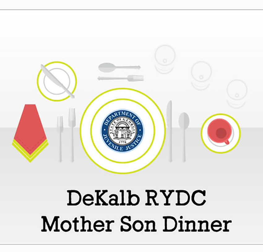 Mother-Son dinner at DeKalb RYDC