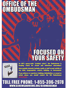 DJJ Focused on Your Safety Poster