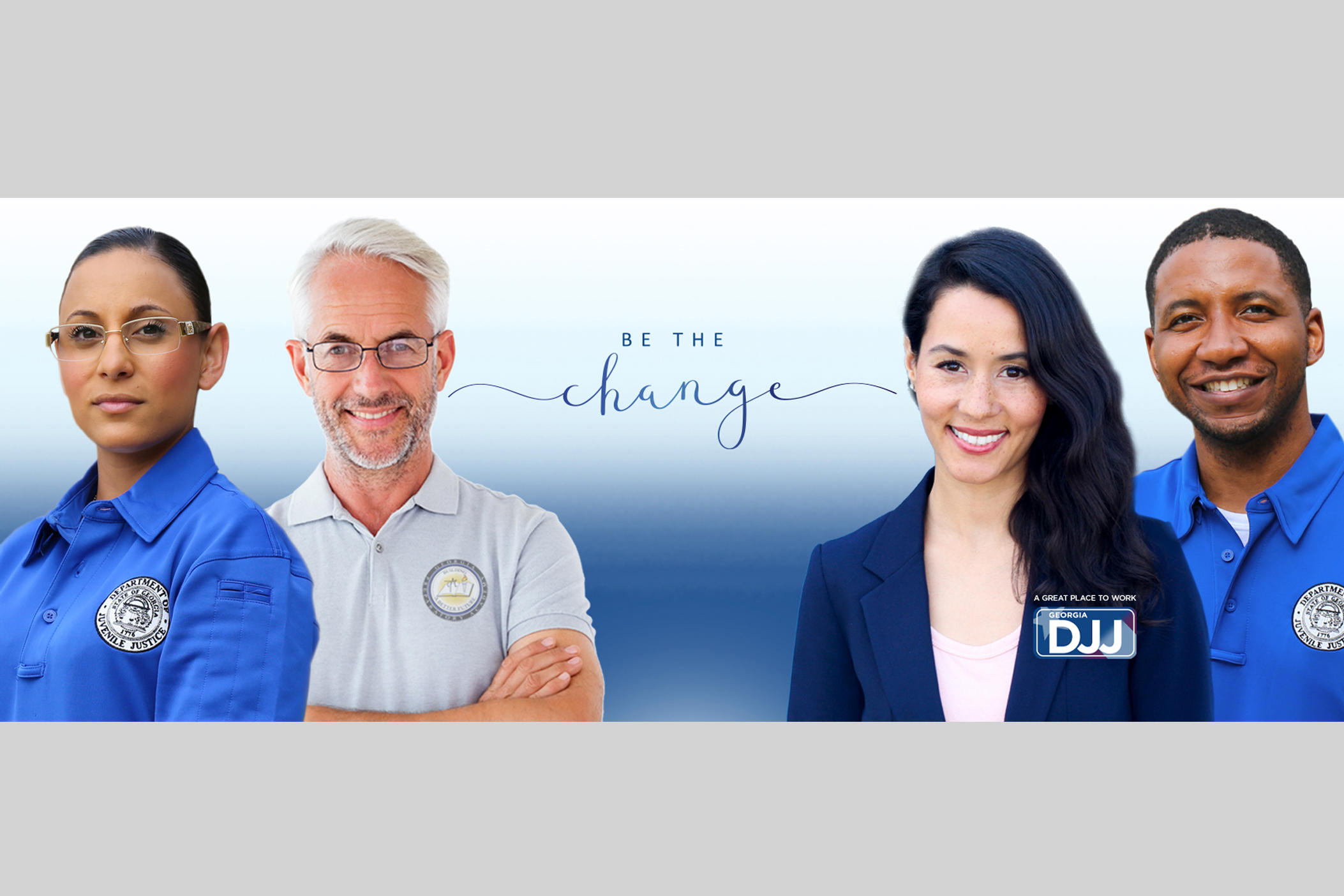 DJJ Home Page Banner - Be The Change
