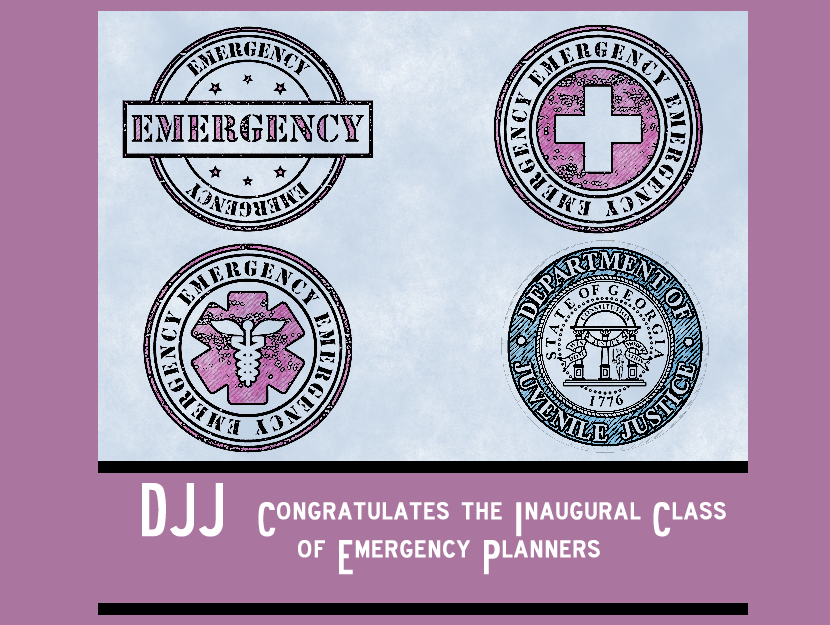 DJJ Supports Emergency Planners