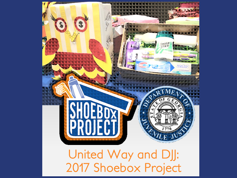 United Way and DJJ: 2017 Shoebox Project