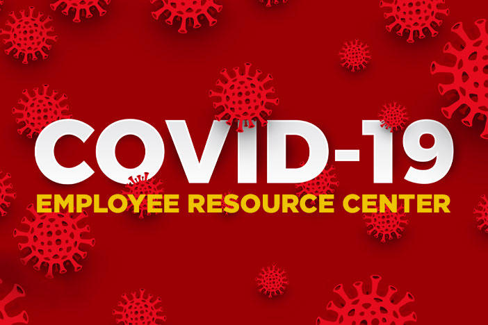 Covid-19 Employee Resource Center Graphic